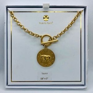 "True to Form ""Taurus"" necklace"